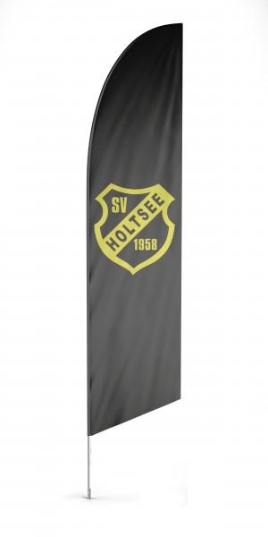 Boatflag Beachflag, inkl. System & Druck