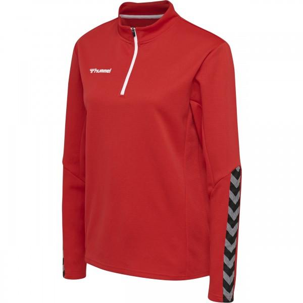 Authentic Half Zip Sweatshirt Damen