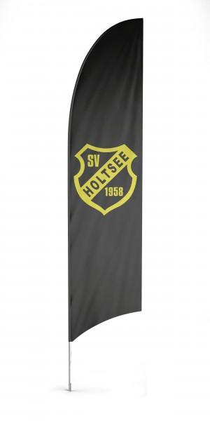 Flyingflag Beachflag, inkl. System & Druck