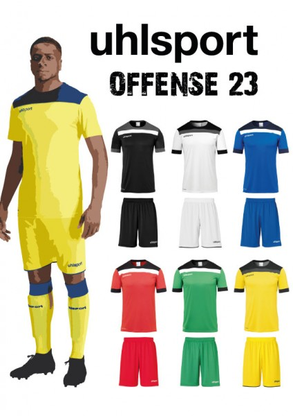 """OFFENSE 23"" 15 Trikotsatz inkl. Langarmshirts"
