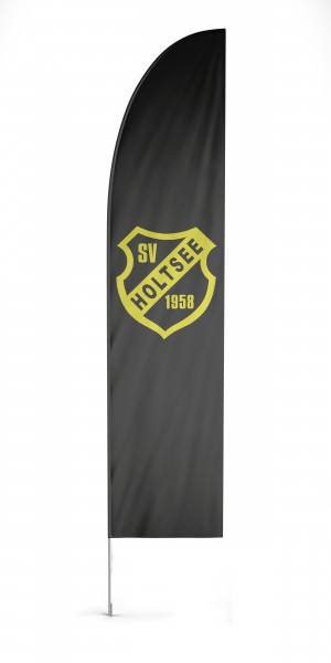 Sailingflag Beachflag, inkl. System & Druck