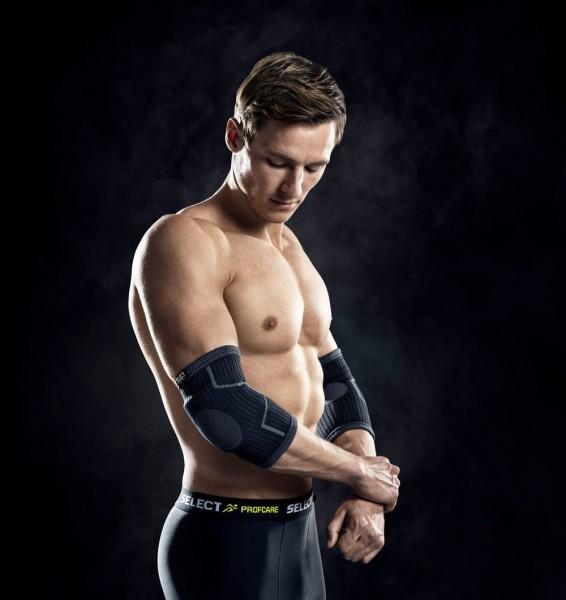 Elastische Kniebandage mit Polster