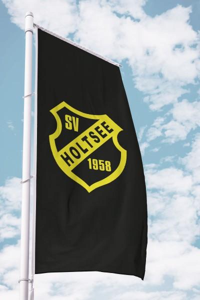 Vereinsfahne im Hochformat